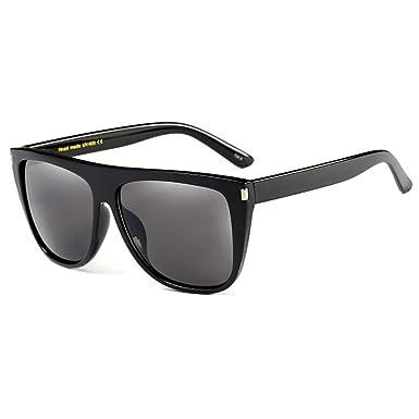 SHEEN KELLY Oversized moda retro Gafas de sol Plaza Mujer Gafas de sol Turismo compras UV400 Gatos espejo señora Carey