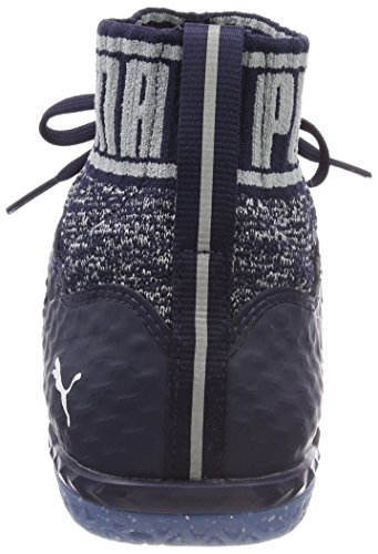 Puma Herren 365 Evoknit Netfit CT American Football Schuhe Blau (Peacoat-Quarry-Puma White)