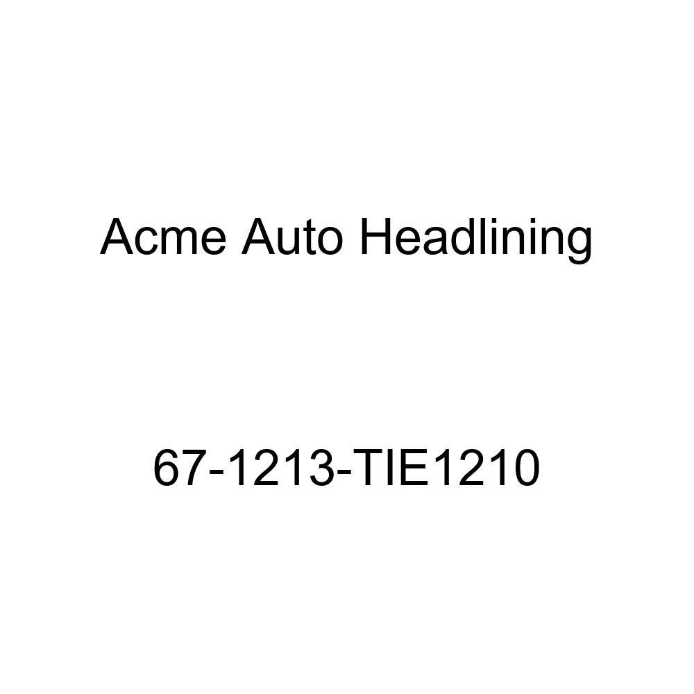 Oldsmobile 98 2 Door Hardtop 6 Bow Acme Auto Headlining 67-1213-TIE1210 Maroon Replacement Headliner