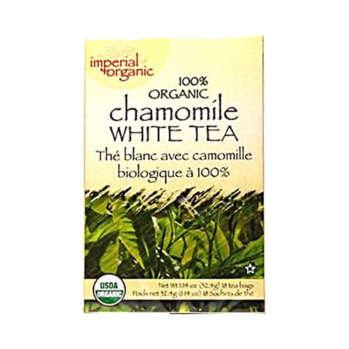 Uncle Lee's Tea 100% Organic Chamomile White Tea 18 Bag(S) - Organic Chamomile White Tea
