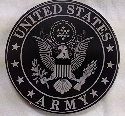 Army Cover Hitch (UNITED STATES ARMY BILLET ALUMINUM HITCH COVER-5