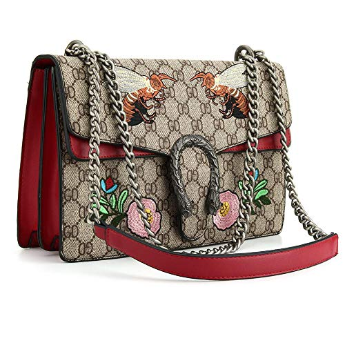 UNYU Cross-body Bag for Womens Handbag Designer Fashion Single Shoulder Messager Bags Red