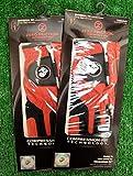 2 Zero Friction Men's LH Universal Fit Golf Gloves - Marines - Red