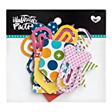 Illustrated Faith - Designer Paper Clips - Polka