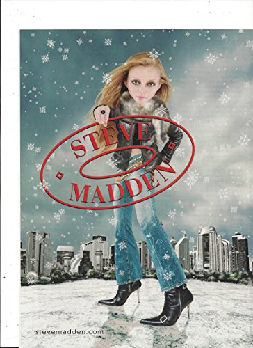 print-ad-for-steve-madden-shoes-2003-big-head-model-campaign-city-snowfal
