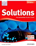 Pack Solutions Pre-Intermediate. Student's Book - 2nd Edition (Solutions Second Edition) - 9788467381993