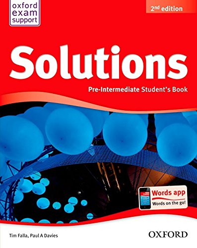 Pack Solutions Pre-Intermediate. Student's Book - 2Nd Edition