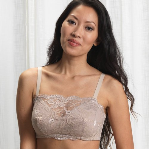 Valmont Soft Cup Lace Cami Bra Style 86858 - Nude - 38D