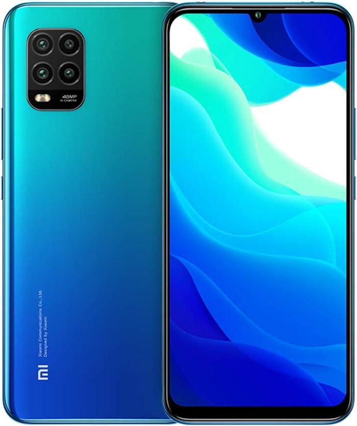Xiaomi Mi 10 Lite 5G 6GB 128GB Smartphone Qualcomm Snapdragon 765G Octa Core 48MP AI Quad Cameras 6.57 '' AMOLED TrueColor Display Teléfono móvil NFC (Azul)