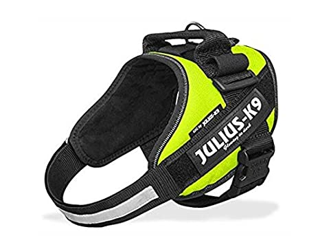 Arnes Julius-K9 IDC Powerharness Neon Green Mini - Resistente ...