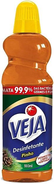 Desinfetante Veja Pinho, 980ml