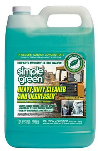 Degreaser 1 Gallon Bottle - Simple Green 18203 Heavy Duty Cleaner and Degreaser, 1 Gallon Bottle