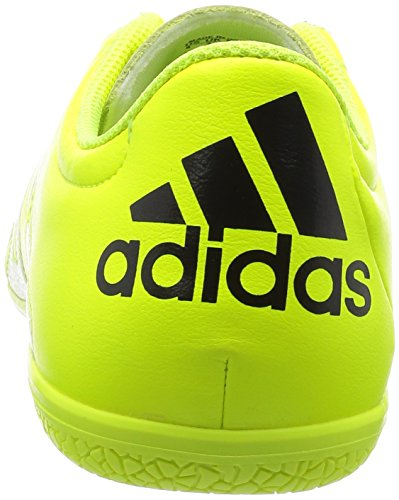 adidas X 15.3 IN Leather - Botas para hombre Lima / Negro