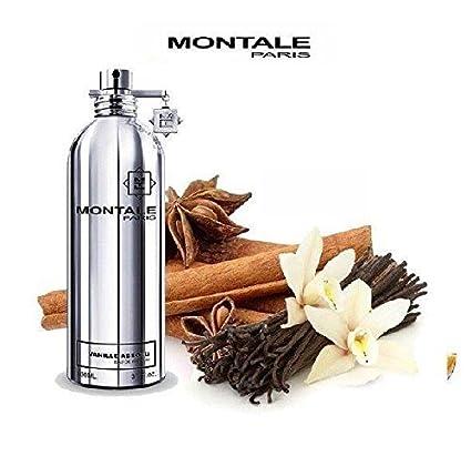 Absolu De Montale Made Perfume 100ml In 100Authentic Eau Vanille erdCxoB