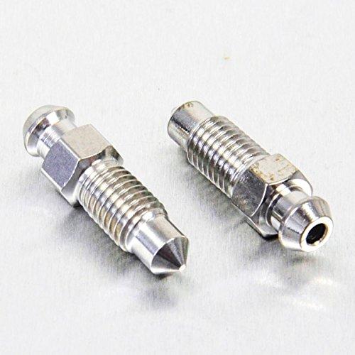 Stainless Steel Bleed Nipple M7 Rear Brake Mast Cyl x2