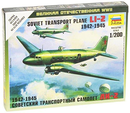 (Zvezda Models 1/200 Li-2 Soviet Transport Plane)