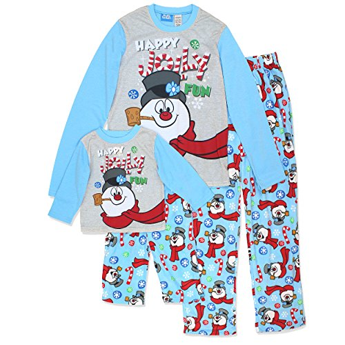 Frosty the Snowman Christmas Holiday Family Sleepwear Pajamas (2T, Unisex Toddler Frosty)