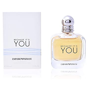 Amazoncom Emporio Armani Because Its You Eau De Parfum 34 Ounce