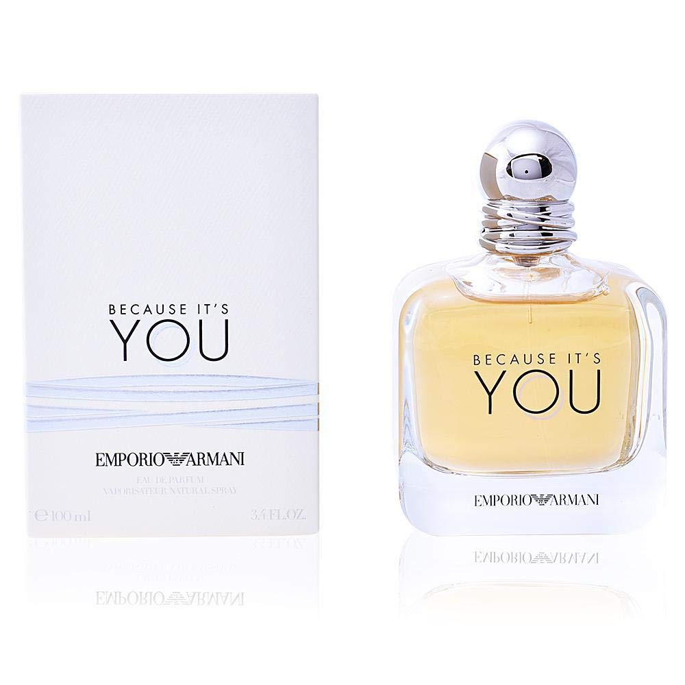Emporio Armani Because It's You Eau De Parfum 3.4 Ounce / 100 ml