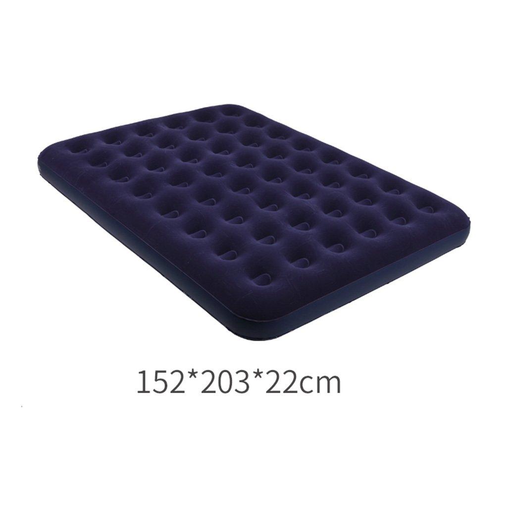 Bed-LSS Matratze, Luftbett-Haushalts-aufblasbare Bett-zusammenklappbare Matratze tragbares Bett im Freien