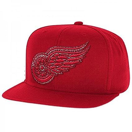 Reebok NHL Gorra Detroit Red Wings, talla única