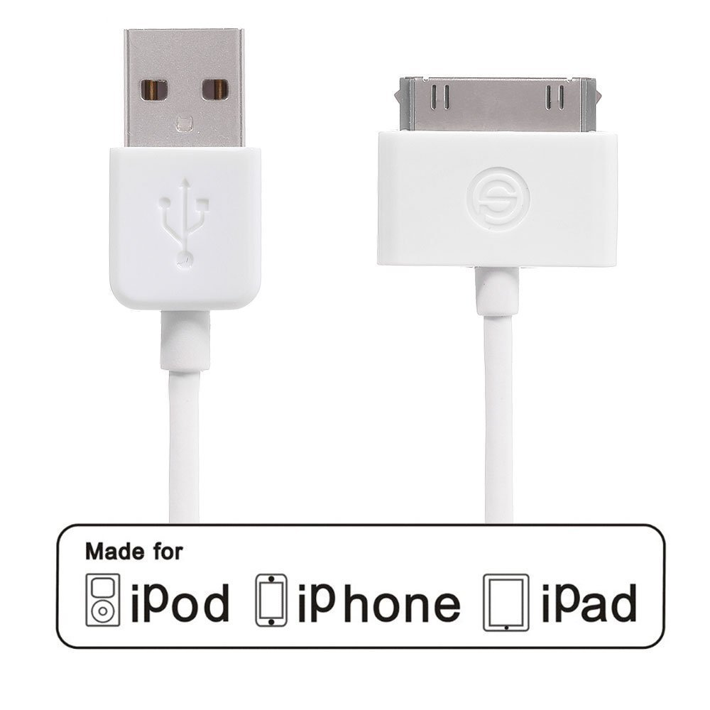 Eimolife Apple Authorised MFI Certificate 12M USB Sync Data Charging Charger Cable Cord For