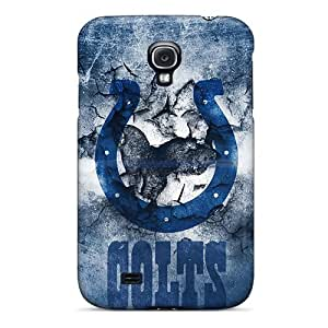 Samsung Galaxy S4 XFg514QvQF Support Personal Customs High-definition Indianapolis Colts Series Anti-Scratch Hard Cell-phone Cases -LisaSwinburnson WANGJING JINDA