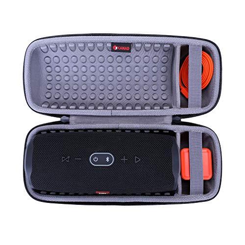 کیف سخت XANAD برای بلندگو JBL Charge 4 - کیف محافظ حمل و نقل مسافر (خاکستری)