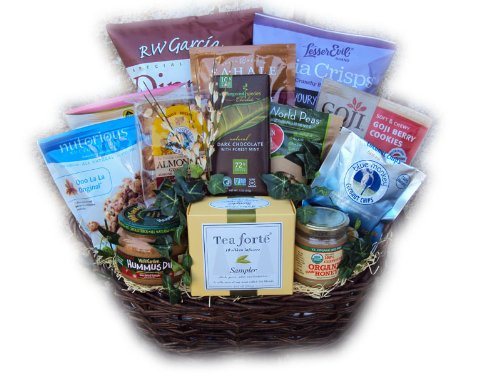 Deluxe Healthy Mother's Day Basket by Well Baskets