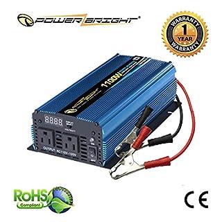Power Bright PW1100-12 Power Inverter 1100 Watt 12 Volt DC To 110 Volt AC (B000NIG2FG) | Amazon price tracker / tracking, Amazon price history charts, Amazon price watches, Amazon price drop alerts