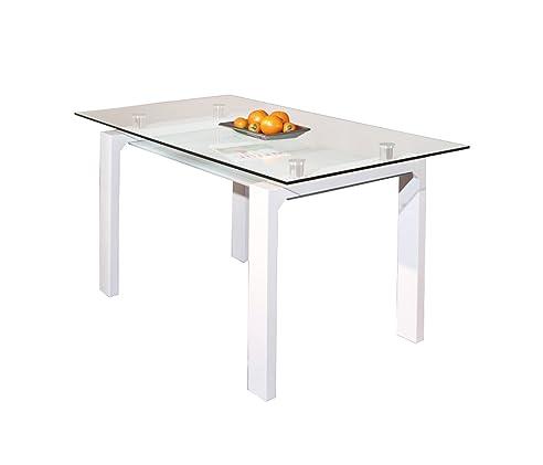 Links 50700350 Esstisch Küchentisch Glastisch Esszimmer Tisch