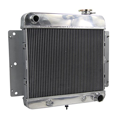 (CoolingCare 3 Row Aluminum Radiator for 1962-1967 Chevy II Nova 6 Cylinder V8 Conversion)