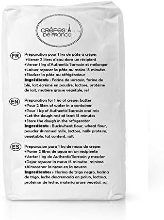 Crepes de Francia – preparación para pasta Crepera y cojines ...