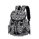 Lt Tribe Womens Backpack Shoulder Bag Backpack Purse Travel College Daypack (One_Size, Black125)