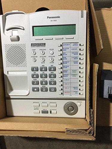 Panasonic KX T7633 - Digital Phone White (Panasonic Pbx Phone compare prices)