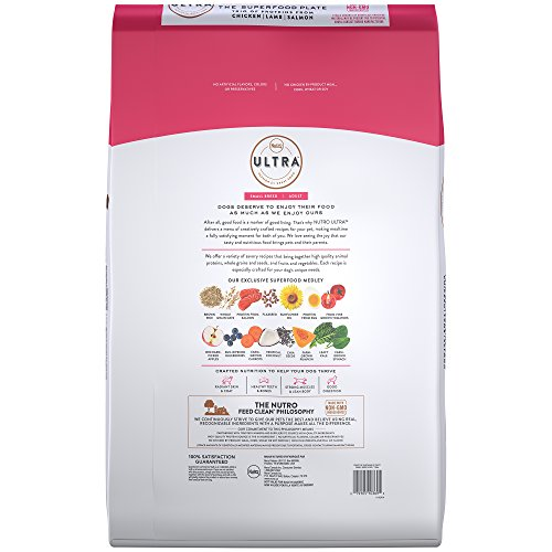 Nutro Ultra Small Breed Adult Dry Dog Food With A Trio Of Proteins From Chicken, Lamb And Salmon, 15 Lb. Bag