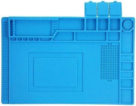 High Temperature Maintenance Heat Insulation Pad Silicone Mat BGA Workbench Weld