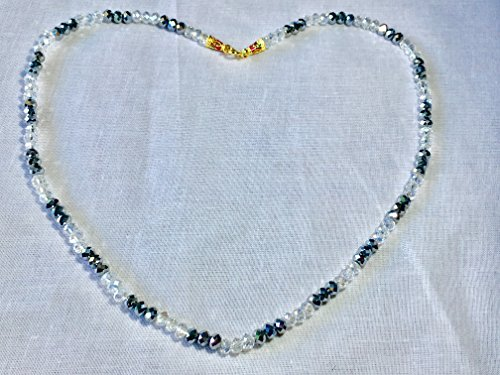 seven-one-white-silver-charming-crystal-necklace-thai-vintage-style