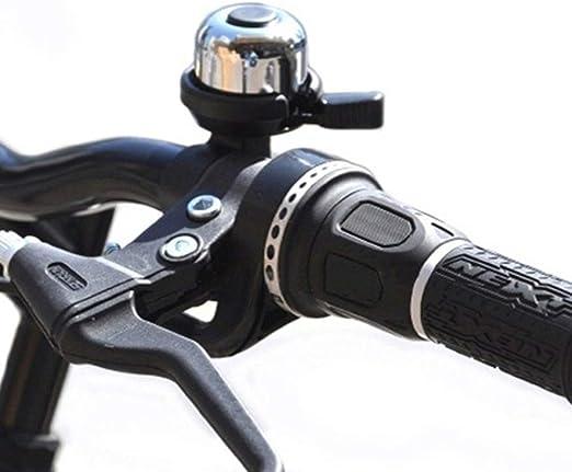 Campana de bicicleta Bicicleta Mini Tamaño Loud Bell Horn Accesorios de bicicleta para hombres, mujeres, niños, niñas, niños, bicicletas, campana, fácil de instalar Timbre de bicicleta talla única: Amazon.es: Hogar