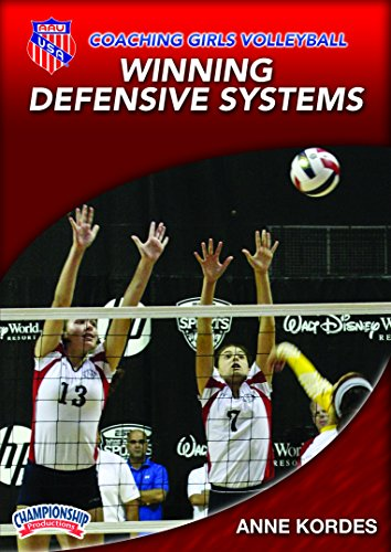 AAU Coaching Girls Volleyball Series: Winning Defensive Systems - Volleyball Coaching Dvd