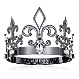 DcZeRong King Crown Adult Prince Crowns