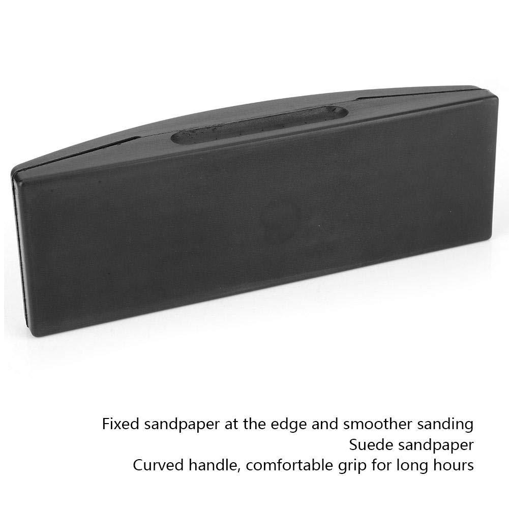 70 * 200 mm Soporte de Papel de Lija Lijado Rectangular Manual Almohadilla de Pulido Marco de Papel de Lijado Con Mango de 70 x 200 mm