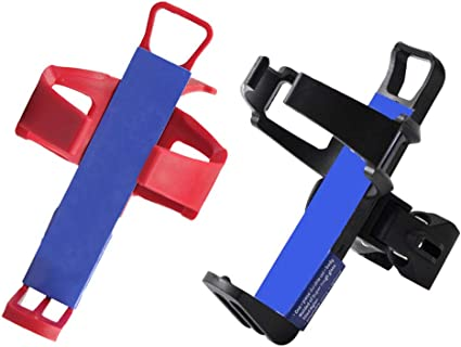 LIOOBO Stroller Bottle cage Bike Cup Holder for Stroller Wheelchair Walker Trolley