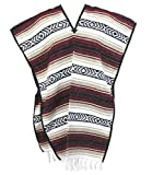 Leos Imports Authentic Mexican Falsa Poncho Pancho (Burgundy)