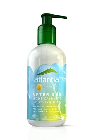 Atlantia Aftersun Leche Calmante Para Después del Sol - 250 ml: Amazon.es: Belleza