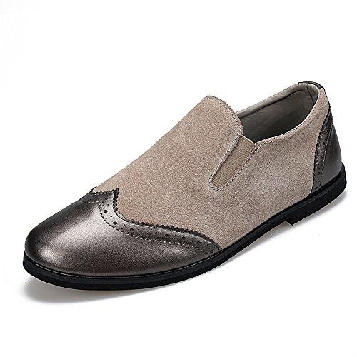 Sports Chaussures Toile Occasionnels Business Chaussures Gris Jaune Hommes Noir Chaussures Printemps Dentelle Grey Automne 7qZ5aWWPw
