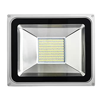 LED Flood Light Cold Lamp 100W 150W 200W 300W 500W 11000-55000LM 120° Wide Beam Angle IP65 Waterproof Spotlight Security Lights Indoor&Outdoor Garden Terrace Garage Driveway Stairs (500W)