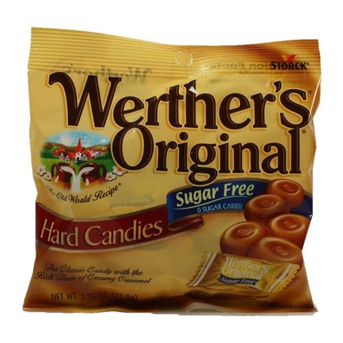 Werther's Original Hard Candies, Sugar Free (Pack of 18)