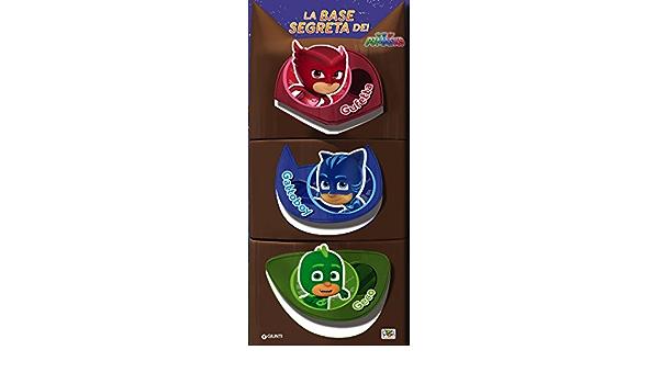 La base segreta dei Pj Masks. Con adesivi : Amazon.es: Libros