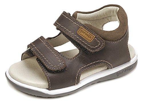 9ecde17471b Garvalín 182452, Sandalias con Punta Abierta para Niños, Marrón (Brown), 24  EU: Amazon.es: Zapatos y complementos